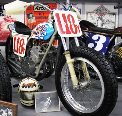 Dan Rouit Flat Track Museum Collection Ze Last Chance