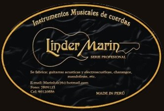 """INSTRUMENTOS """"LINDER MARIN"""""""