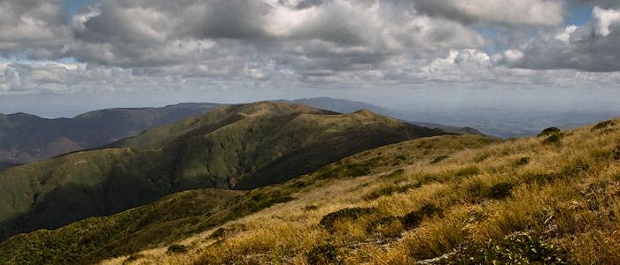 Ngamoko Range looking South