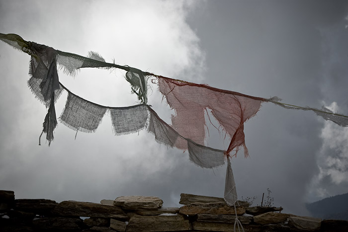 Prayer flags, Annapurna Sanctuary Trail