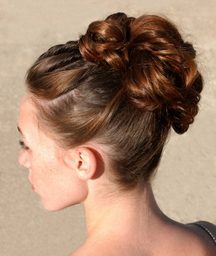 Updo Hairstyles for Prom, Weddings, Sweet Sixteens and Other Occassions