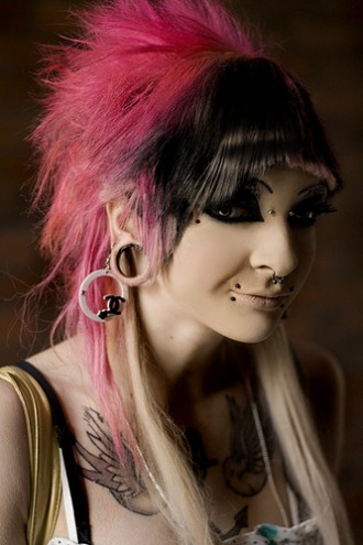 cute emo hairstyles short