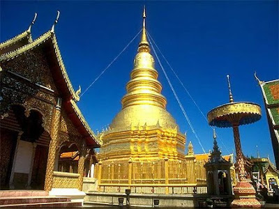 Wat Thai Temple: Wat Phra That Doi Chom Thong : Chiang Rai