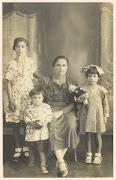 Restauración de fotos antiguas foto vieja flia centrada