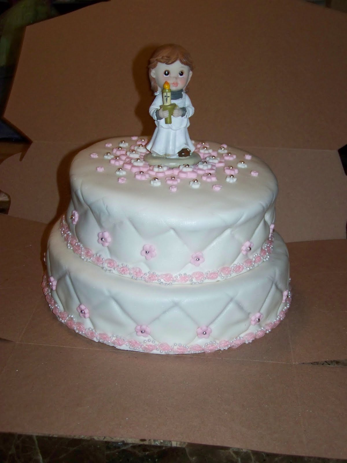 Cake-A-Licious: First Communion Cake