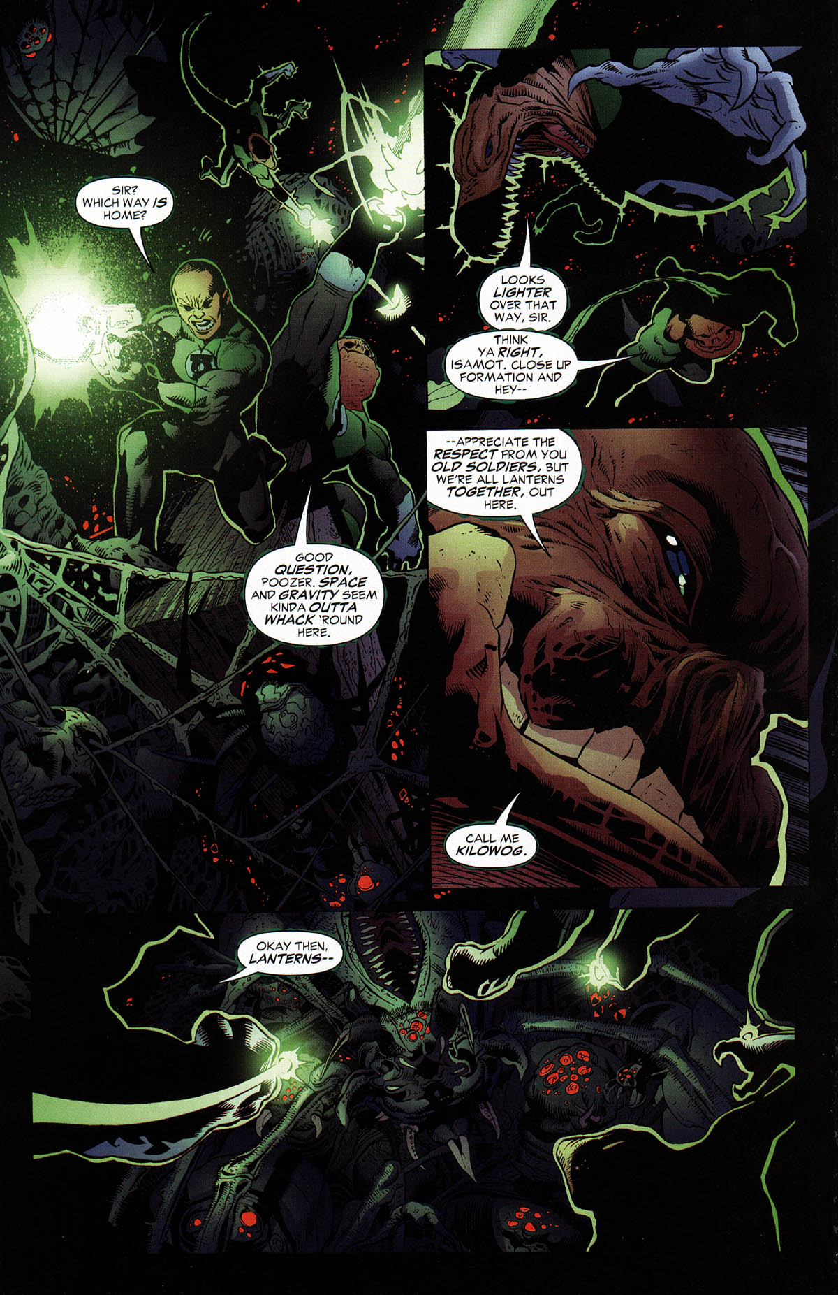 Read online Green Lantern Corps: Recharge comic -  Issue #3 - 10