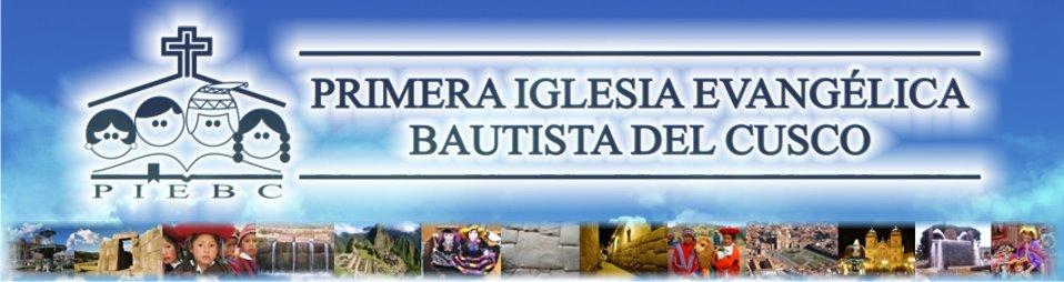 Página Cristiana - Primera Iglesia Evangélica Bautista del Cusco