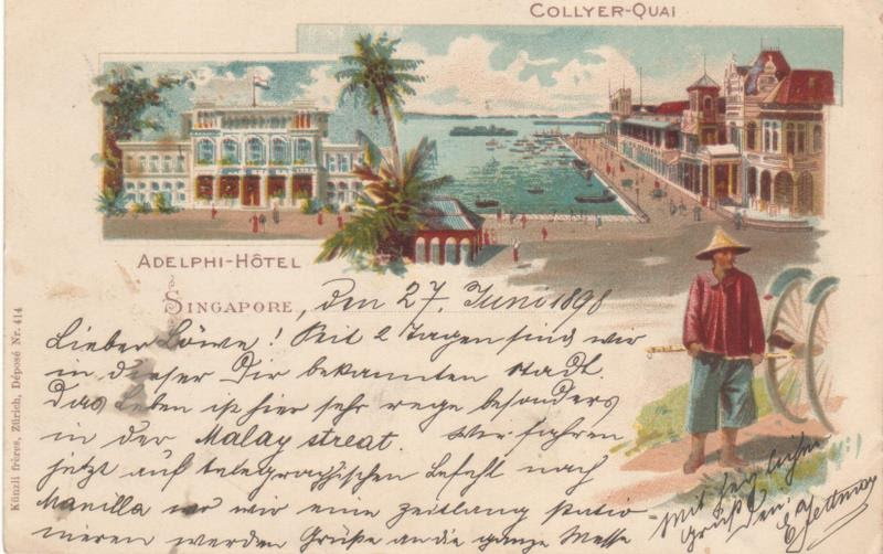 Singapore Antique Picture Postcards   Reflections Of A