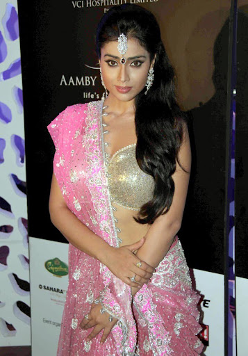 Shriya Saran on for Bridal Fashion Week Photoshoot