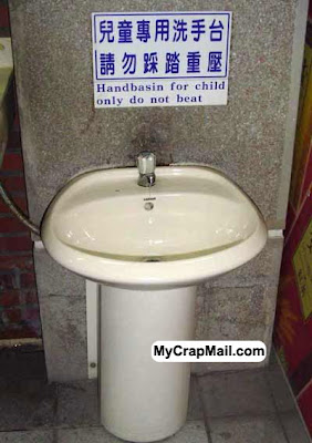 Funny Chinese sign