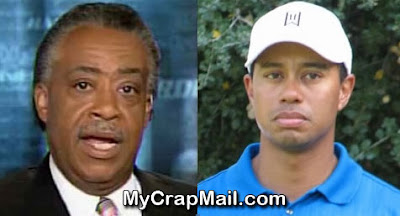Al Sharpton Blasts Tiger Woods for Lack of Mistress Diversity