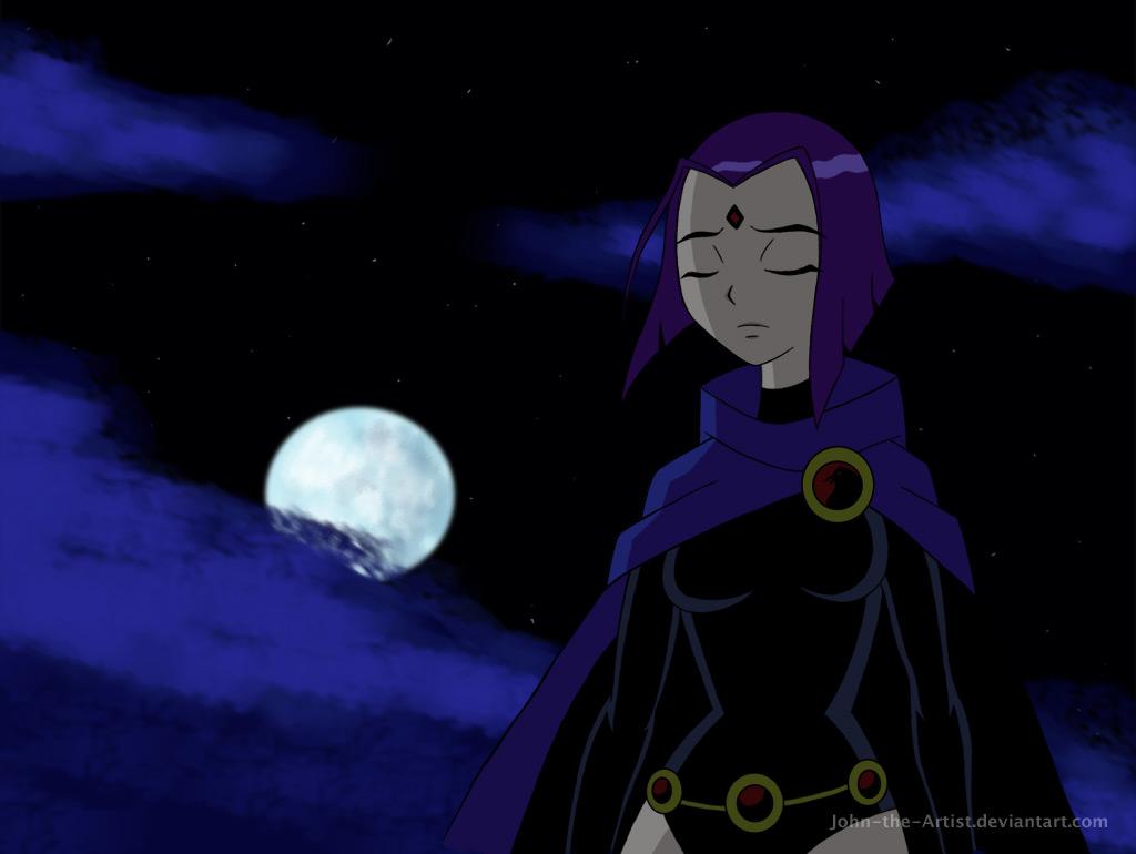 Raven's TEEN TITANS Appearance (Kinda anime-ish)