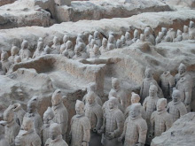 Terracotta Warriors in Xi'an,China