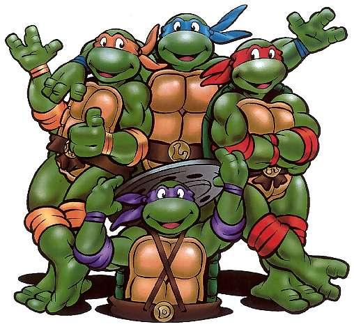 Anyways; volviendo a nuestro super viaje de ser las Tortugas Ninja-