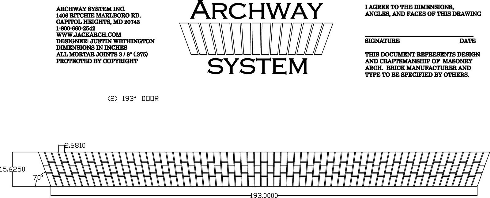 autocad how to draw brick on an arch