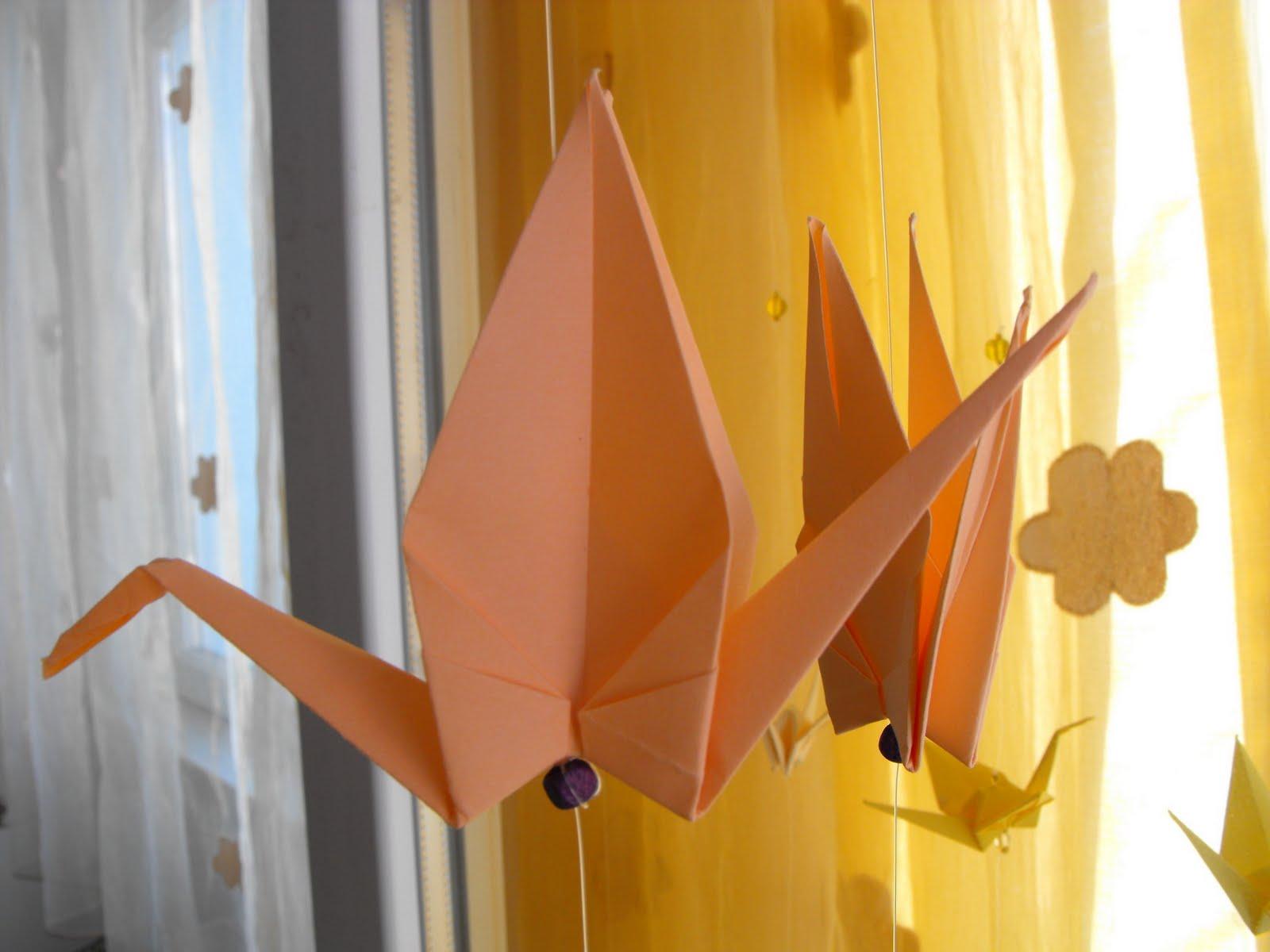 99 Cocori Schema Of Origami Mobile Crane 2 Cocorul A Devenit Simbolul Pacii Datorita Povestii Lui Sadako Sasaki O Fetita Care Bolnava Fiind De Leucemie In Urma Radiatiilor Provocate Bomba
