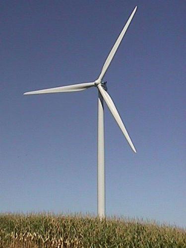 Wind turbines near Aalborg