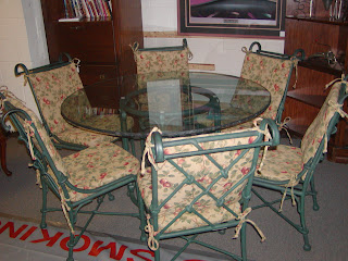 Cottage Thyme Furniture Consignment Very Nice High End Patio Sunroom Set