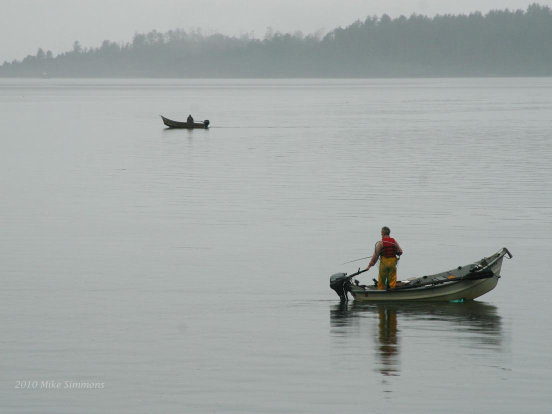 My digital worldview fishing memories for Tillamook bay fishing