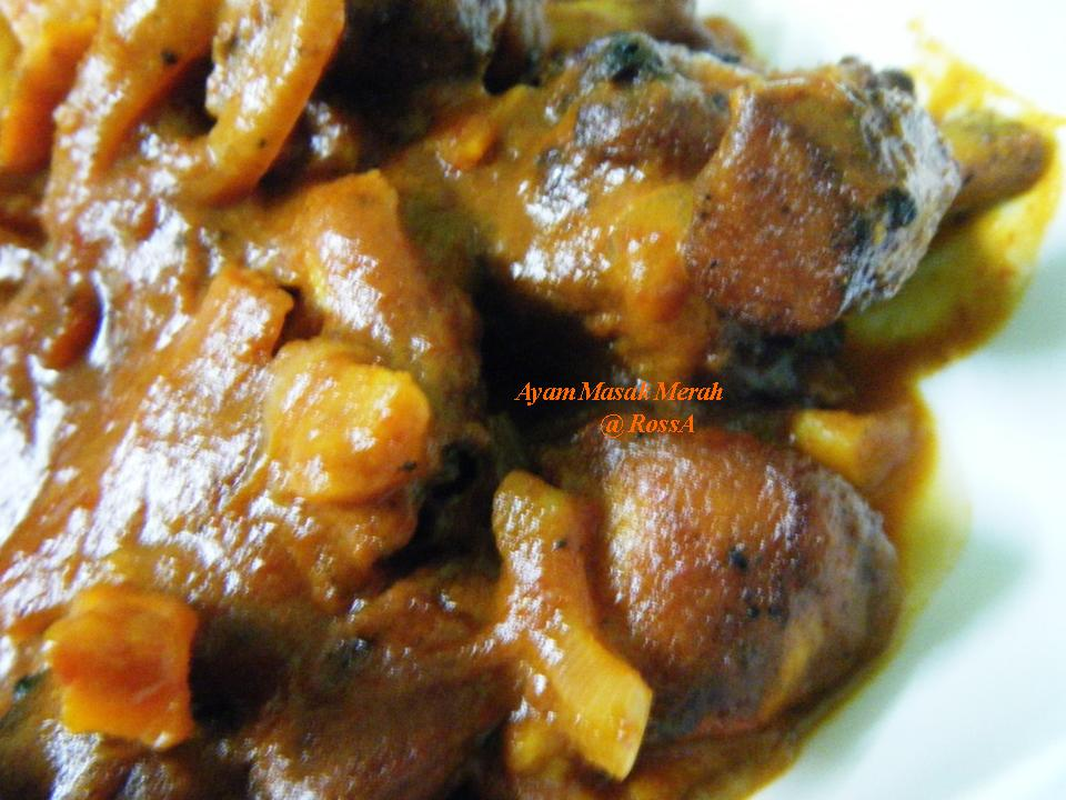 Resepi Ayam Masak Merah Trymasak