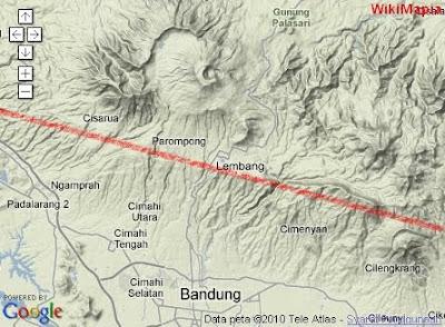 sesar4 Patahan Lembang, Potensi bencana yang masih asing di telinga masyarakat Bandung