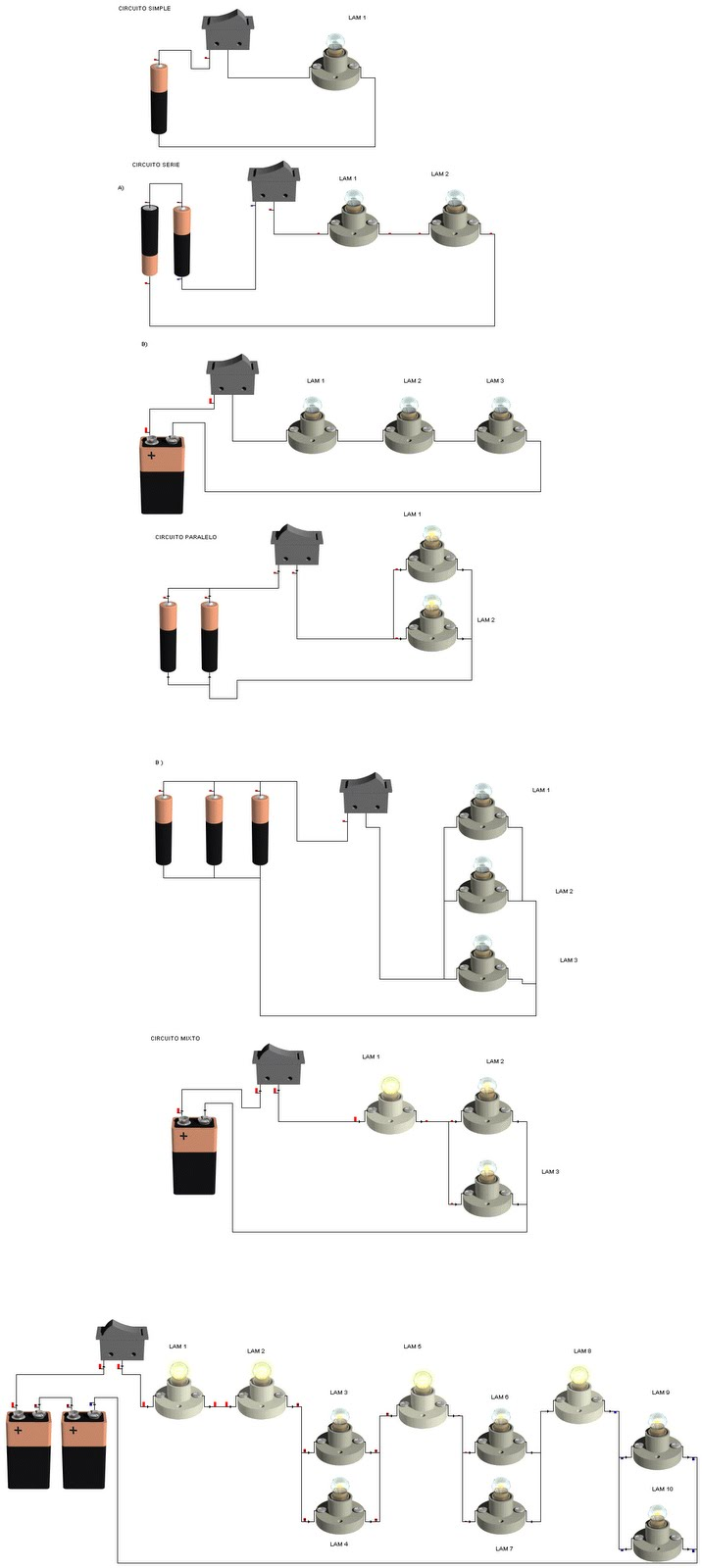Circuito En Serie : Megaelectrick △todo sobre circuitos△