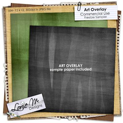 COMMERCIAL USE FREEBIE Art Overlay LorieM_ArtOverlay5_C1_freebie