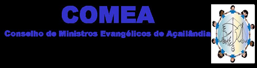 COMEA - CONSELHO DE PASTORES DE AÇAILÂNDIA