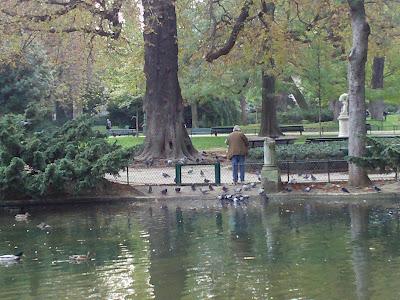 Monceau Park Pond