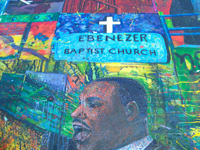 Dr. King Preaching at Ebenezer Baptist Church