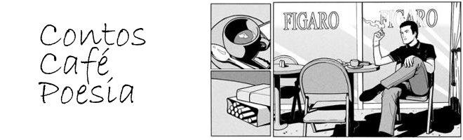 Uma xícara, um maço e um livro.