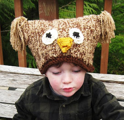 Free Crochet Pattern For Boys Owl Hat Hyeprecampec32s Soup