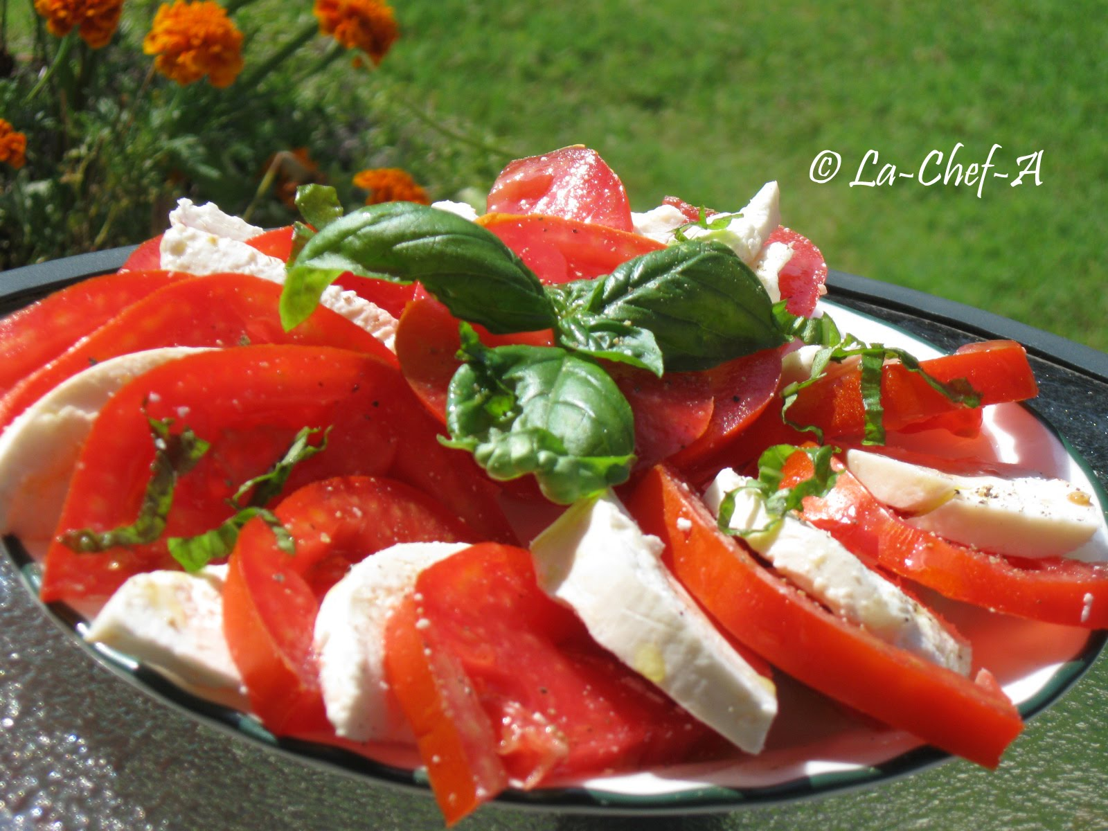 capri salatas yemek