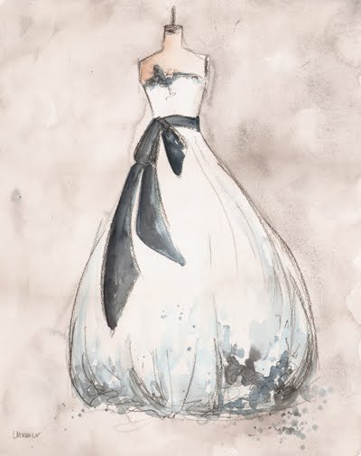 Custom Wedding Dress Portraits