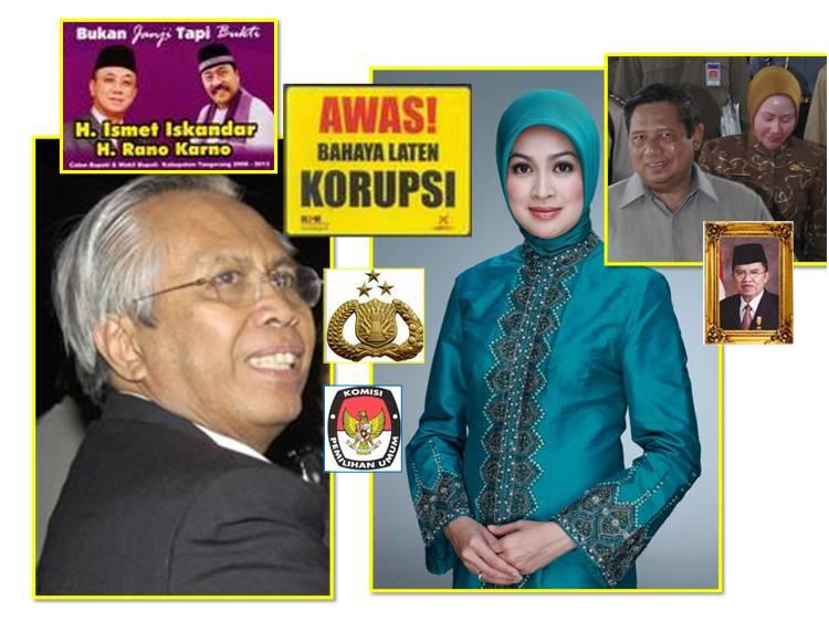 airin rachmi diany, Iman Perwira Bachsan, ketua KPUD Tangsel 2010, perek politik, mafia hukum!