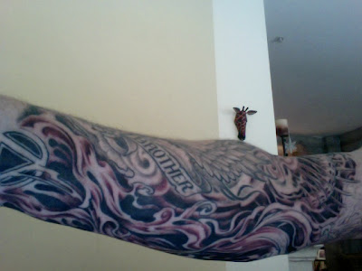 Dutchman Tattoos the title (Comic Book Tattoo — after a line in Flying