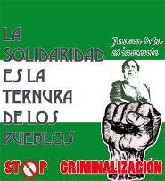 Solidaridad con Juana Orta
