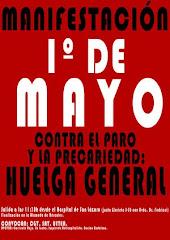 1º de mayo en Sevilla: sobran motivos para la huelga general