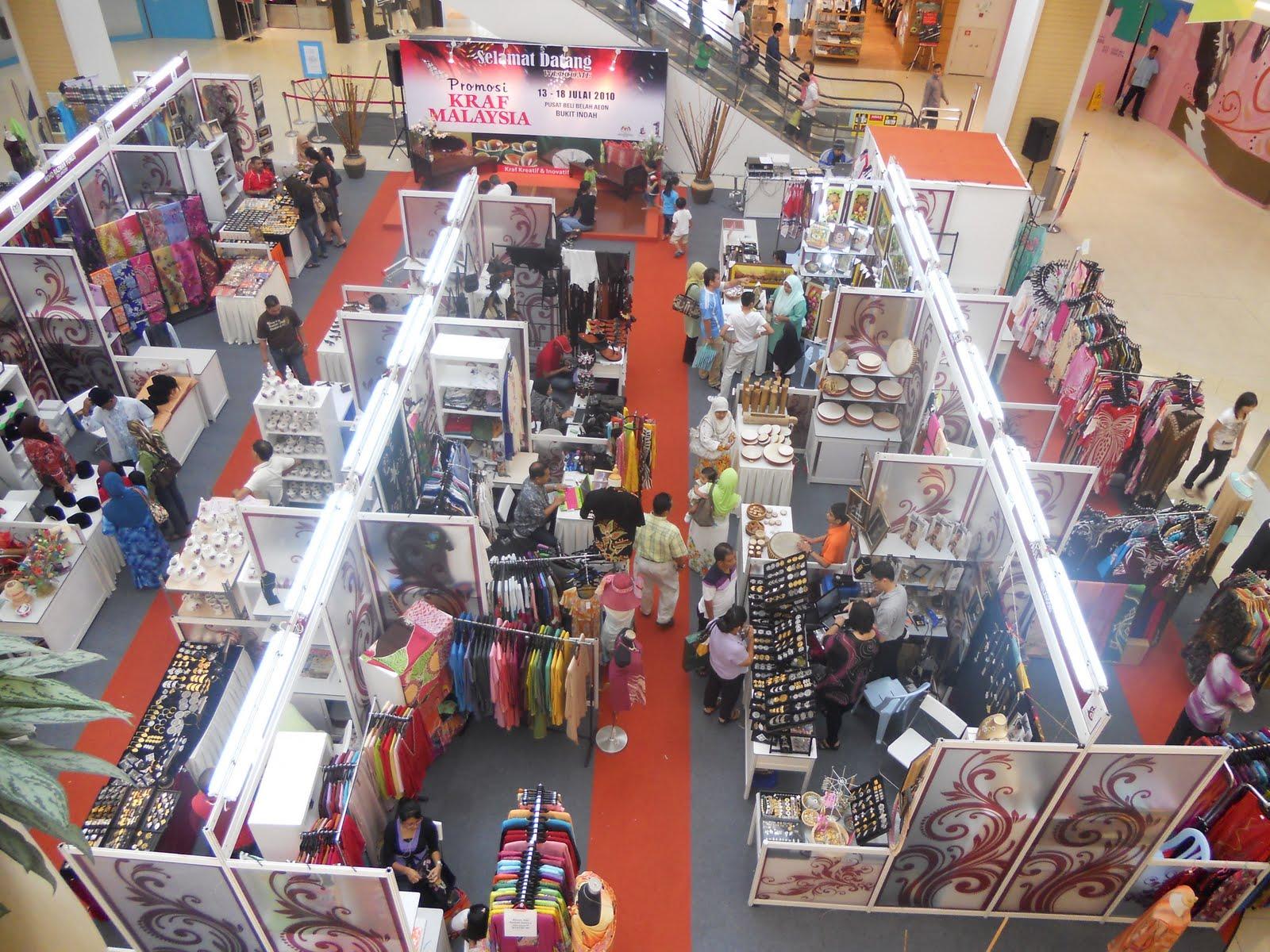 Promosi Kraf Malaysia Di Pusat Membeli-Belah (AEON Jusco Bukit Indah)