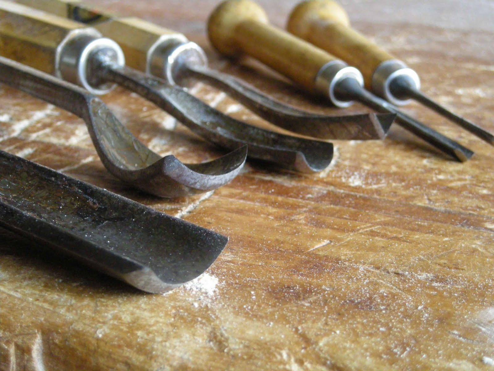 Treefactory traditional carving tools herramientas de - Herramientas de madera ...