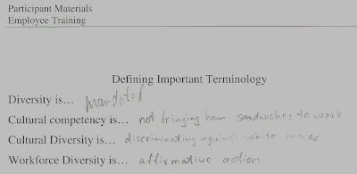 Cultural Awareness Training - Notes