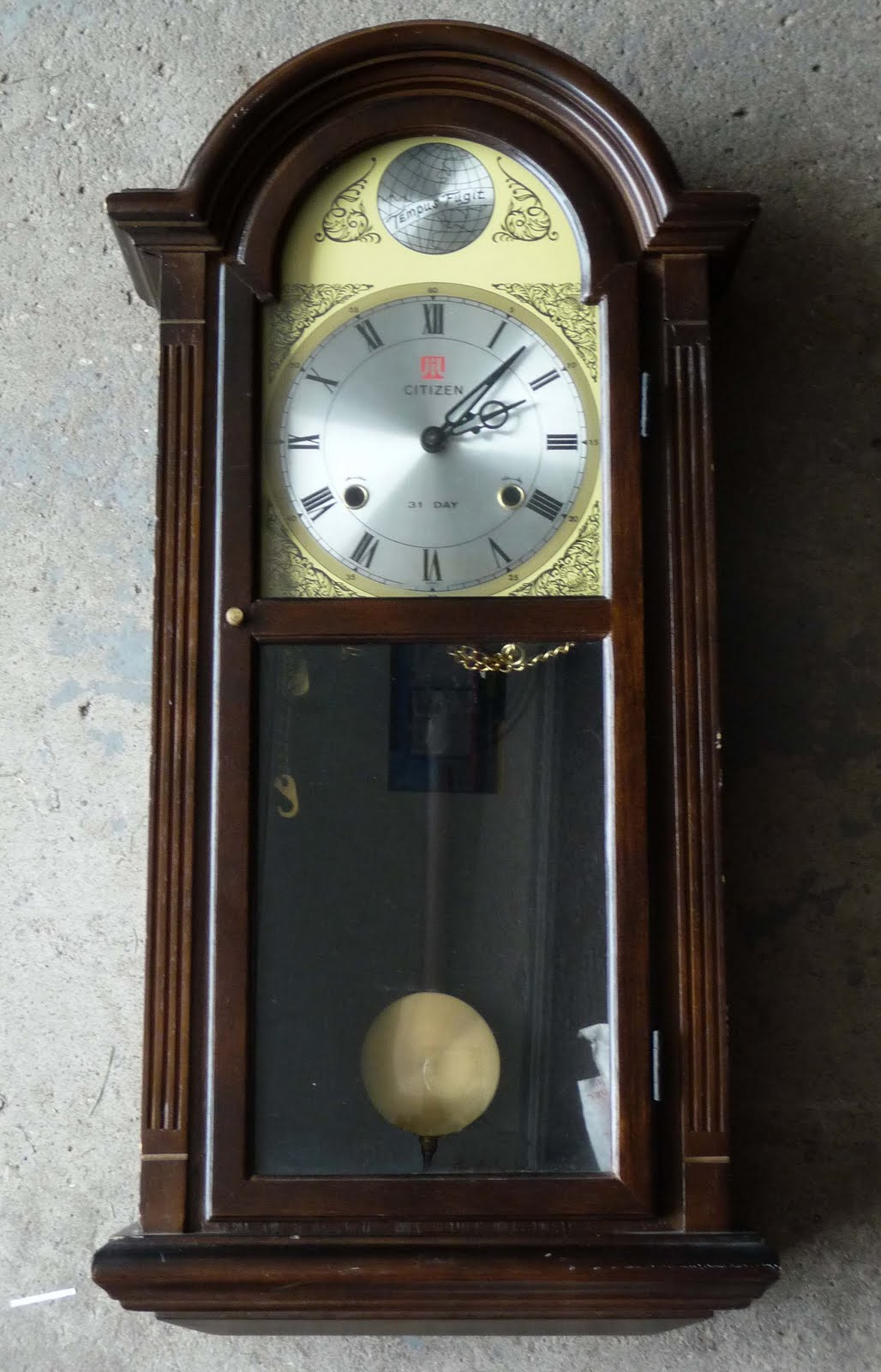 Previously luved treasures tick tock tick tockntage vintage clocks cont citizen 31 day amipublicfo Image collections