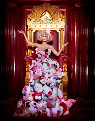 Hello Kitty Outfits worn by Paris Hilton and Lady GaGa