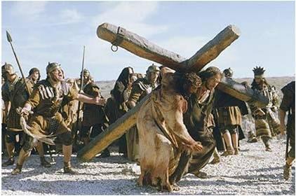 Foi por mim e por você que Ele carregou esta Cruz!