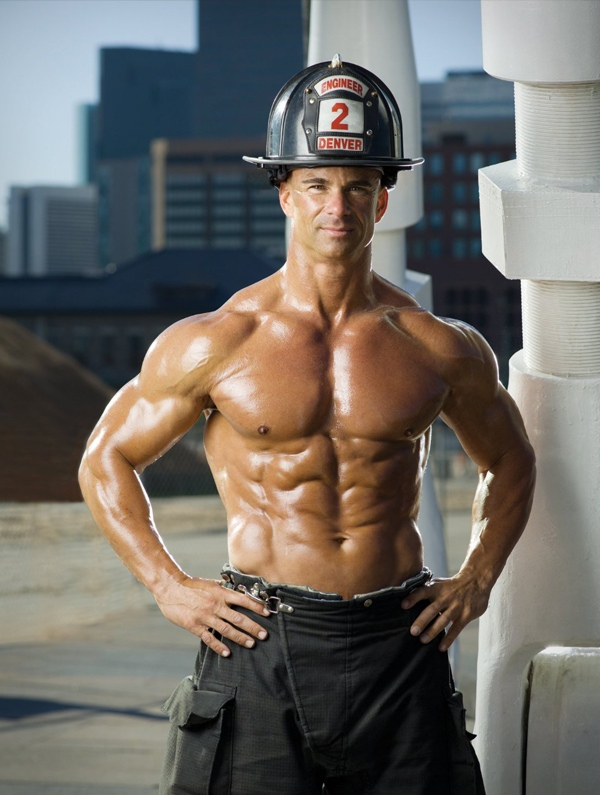 Hot Firefighter Men 2015 | Calendar Template 2016