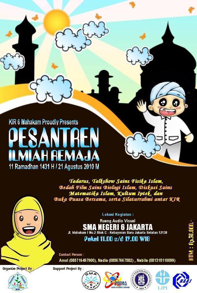 Forum of Scientist Teenagers (FOSCA): Pesantren Ilmiah ...