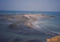 1995.09.24.奎壁山上俯看番黍仔尾嶼 (往右拍)
