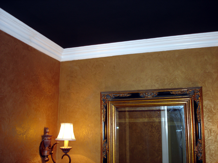 Black ceiling paint ceiling systems Rules for painting ceilings