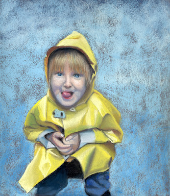 a taste of rain daily pastel painting