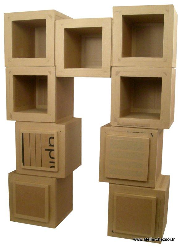 Au fil du temps le blog d 39 h lid e juin 2010 - Patron meuble en carton gratuit ...